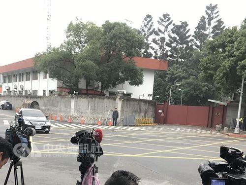 総統公邸の外観