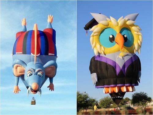 今年の台湾国際熱気球フェスに過去最多となる39機の変形バルーンが登場する=台東県政府提供