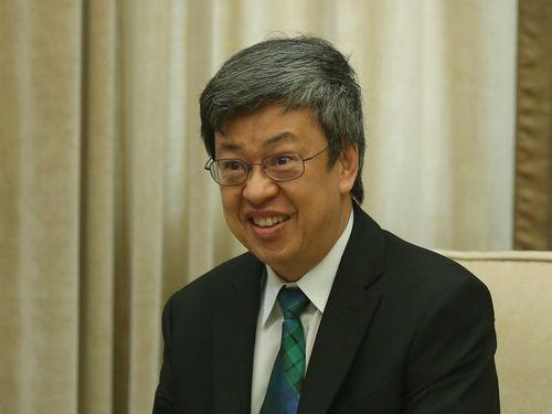 陳建仁副総統