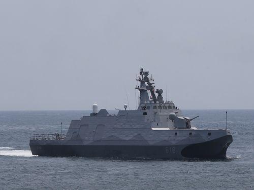 高速スコルベット艦の沱江