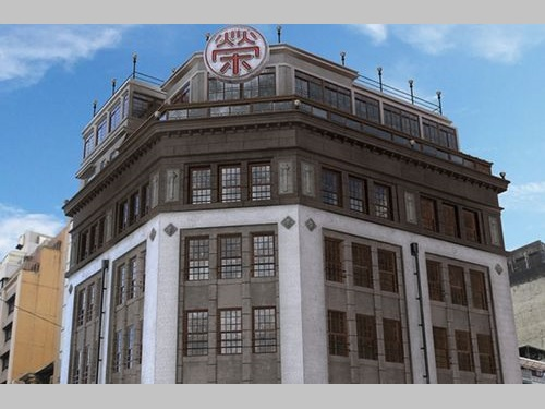 「台湾デジタル資産ライブラリー」(TDAL)で公開される菊元百貨店の3Dモデル=TDALより