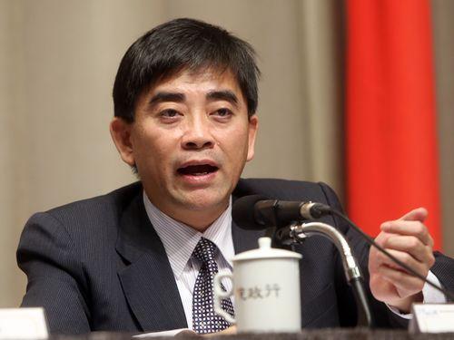 国家発展委員会副主任委員時代の邱俊栄氏
