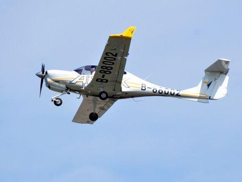 事故機と同型の練習機=資料写真