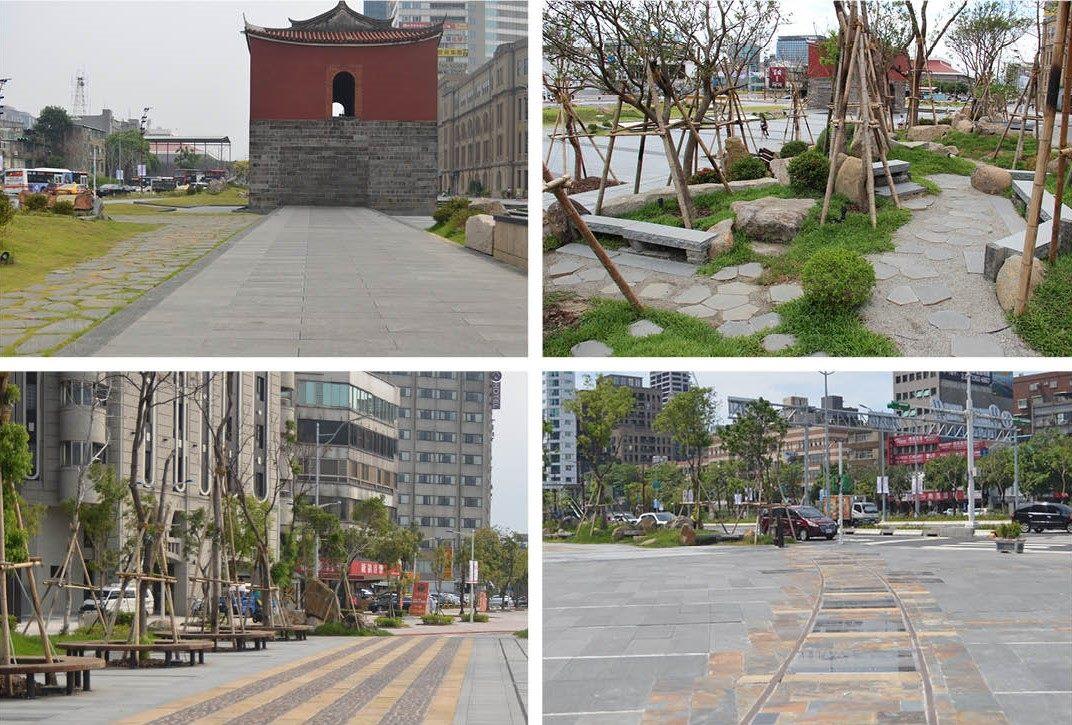 国定古跡に指定されている台北市の観光名所「北門」