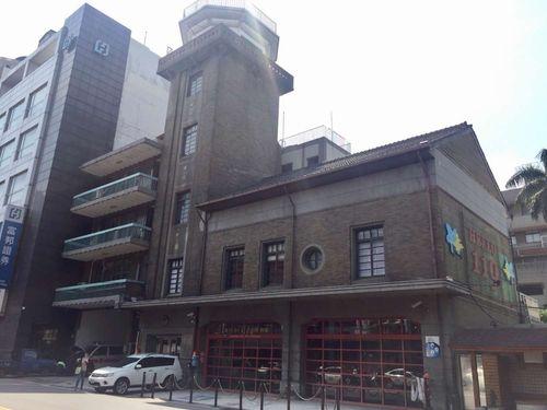 古跡に認定された新竹市消防博物館=同市政府提供