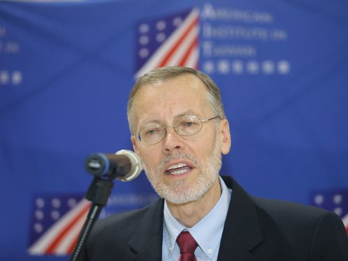 米国在台協会台北事務所の新所長、ブレント・クリステンセン氏