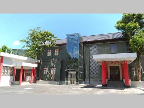 1902年に台湾銀行の頭取の邸宅として建てられた「自由之家」=文化部提供