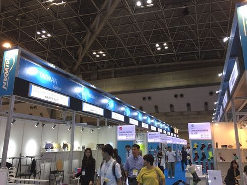 「東京インターナショナルギフト・ショー秋2018」に出展する台湾パビリオン=台湾貿易センター提供