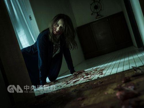 ホラー映画「人面魚:紅衣小女孩外伝」の主演女優、ビビアン・スー=威視提供
