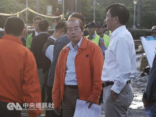 台湾鉄路管理局の鹿潔身局長