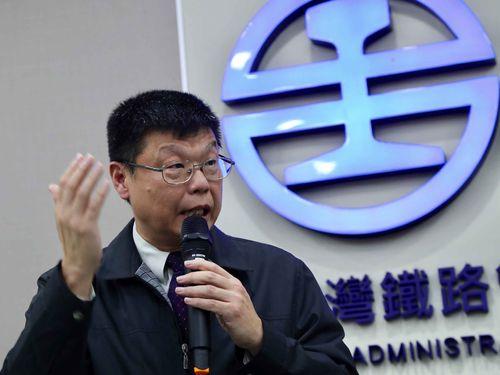 台湾鉄路管理局の杜微副局長
