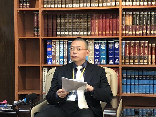 台湾日本関係協会の謝柏輝副秘書長