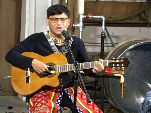 プユマ族出身の歌手、サンプーイさん