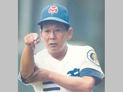 三商タイガース監督時代の林信彰さん=台湾棒球名人堂(野球殿堂)のフェイスブックから