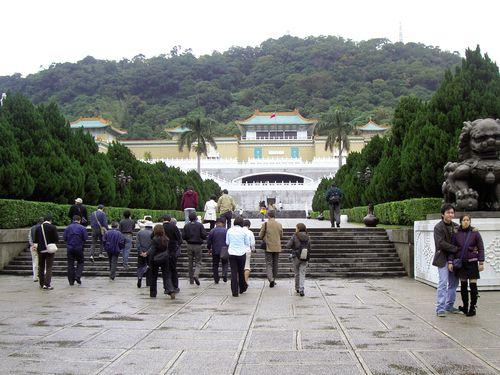 国立故宮博物院の北部院区