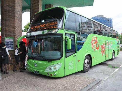 統聯客運が運営する宜蘭―桃園空港間の直通バス