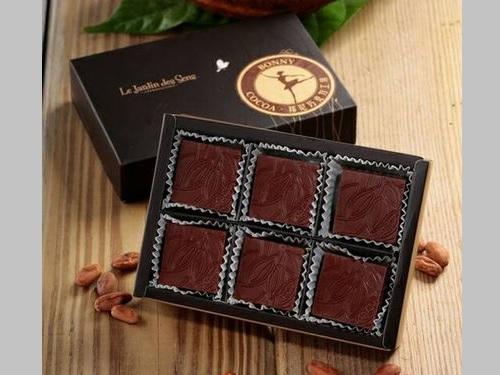 邦尼チョコレート工房の商品=屏東県政府提供