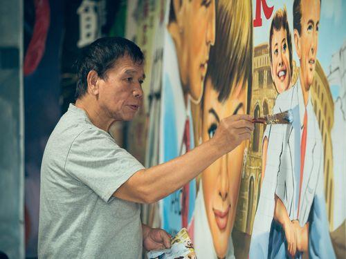 謝森山さん=中華文化総会提供