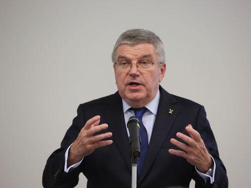 国際オリンピック委員会のバッハ会長