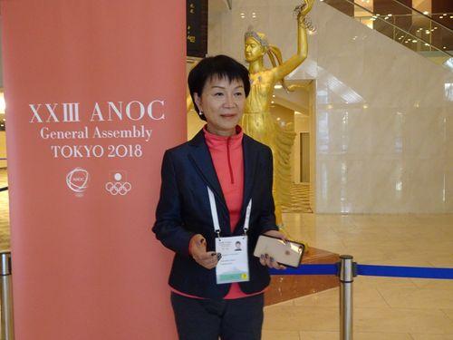 中華オリンピック委員会の沈依テイ秘書長