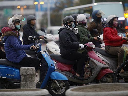 寒気団の影響で台湾各地は17~19日にかけて朝晩の冷え込みが強まる見通し=資料写真