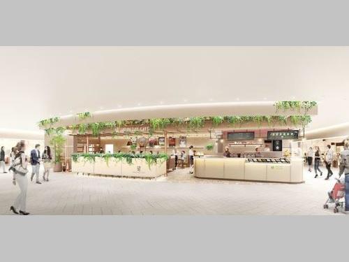 台北市内に開業する「ジャパン・レール・カフェ」の店舗イメージ=JR東日本提供