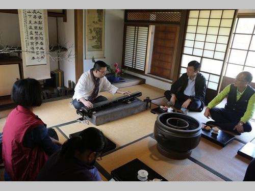 台南市の「八田与一記念園区」内にオープンした、古琴の音色を楽しめる喫茶室=シラヤ(西拉雅)国家風景区管理処提供