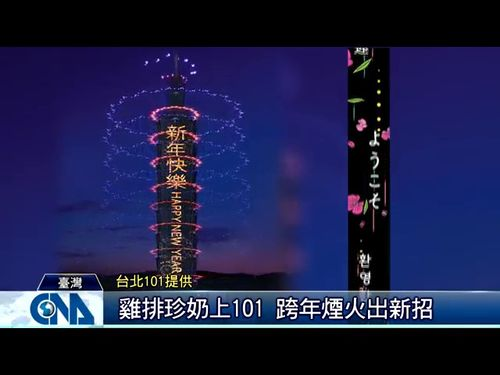 台北101提供