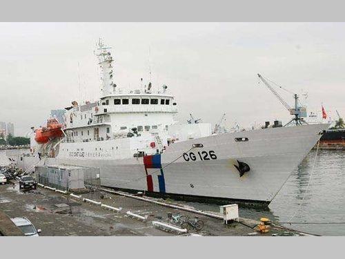 大型巡視船「台南艦」=海巡署提供