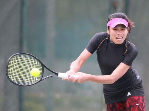 謝淑薇=中華民国テニス協会提供
