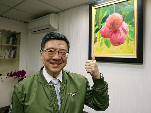 民進党の卓栄泰主席
