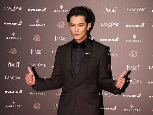 台湾の俳優、ロイ・チウ(邱沢)
