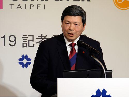 台湾貿易センターの葉明水秘書長