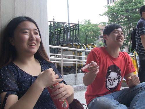左から蔡博芸氏、陳為廷氏=七日影像提供