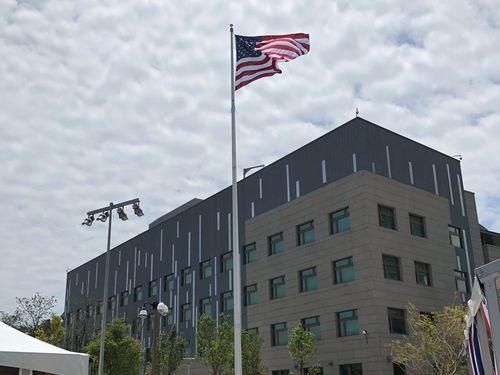 台北市内湖区にあるAIT台北事務所の新庁舎
