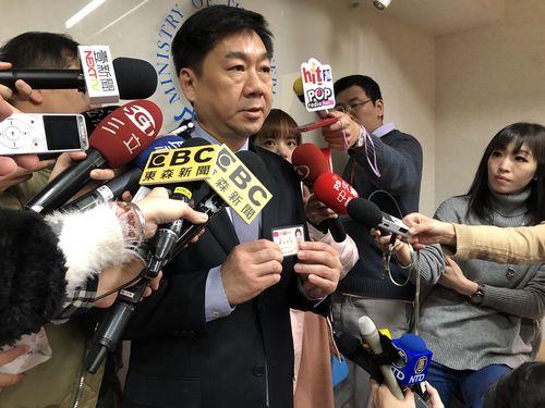 内政部の陳宗彦次長