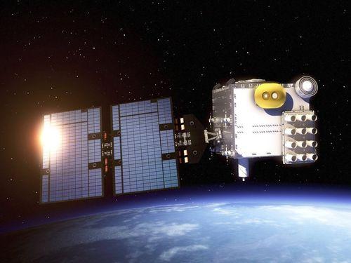台米合作の気象衛星「福衛7号」=国家太空中心提供