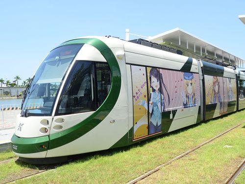 高雄メトロの列車=同社提供