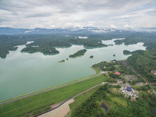 台南市の烏山頭ダム(嘉南農田水利会提供)