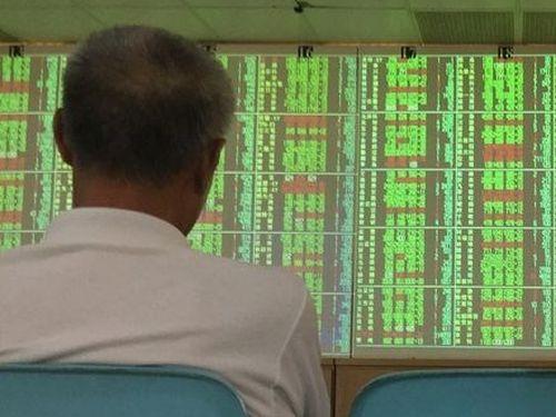 下落が続く台湾の株式市場=資料写真