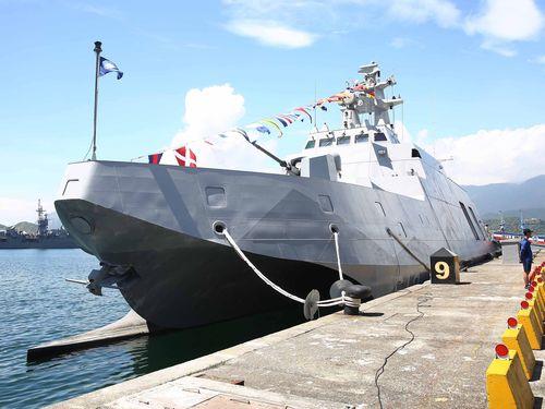 コルベット艦「沱江」