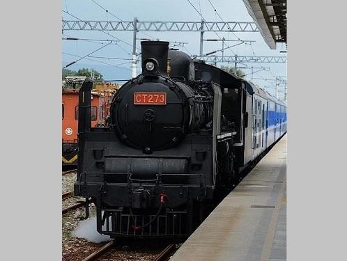 台湾鉄道の蒸気機関車CT273=同社の公式サイトより