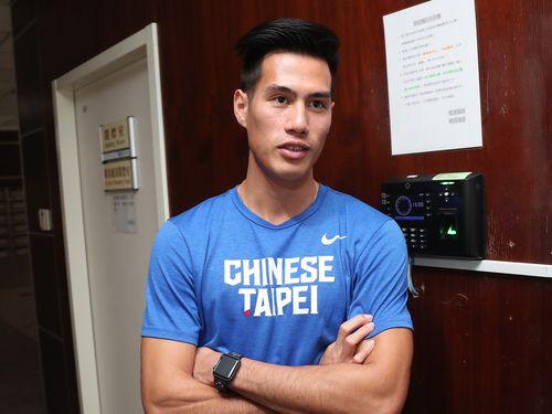 男子200メートルで台湾記録保持者の楊俊瀚