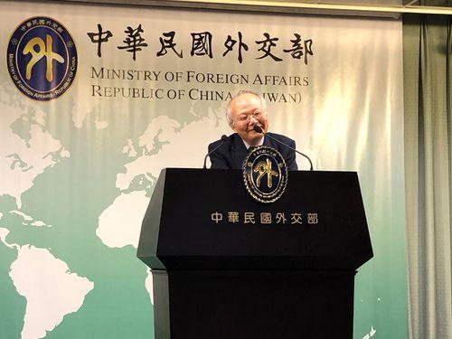 台湾日本関係協会の郭仲煕秘書長