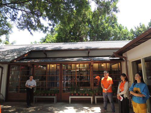 台中市の和風建築を使用したレストラン「不老食光」