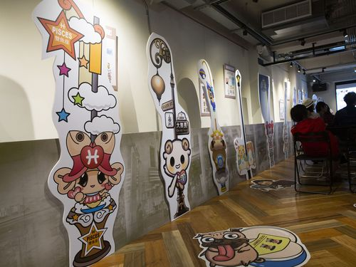 台湾漫画基地内部の様子=文化部提供