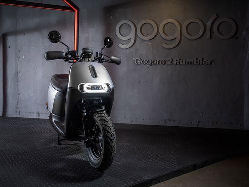 今年3月に発表されたGogoroの新車種=Gogoro提供