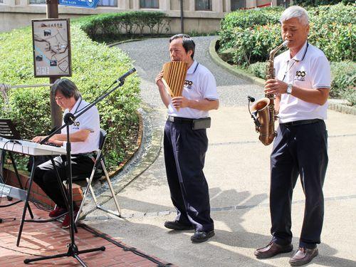 音楽会の形で行われた「金瓜石事件」の追悼式=新北市立黄金博物館提供
