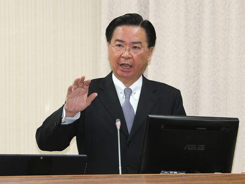 呉ショウ燮外交部長=資料写真