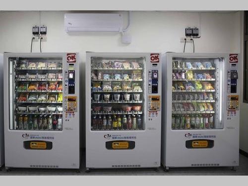 軍の駐屯地に設置されるスマート自動販売機